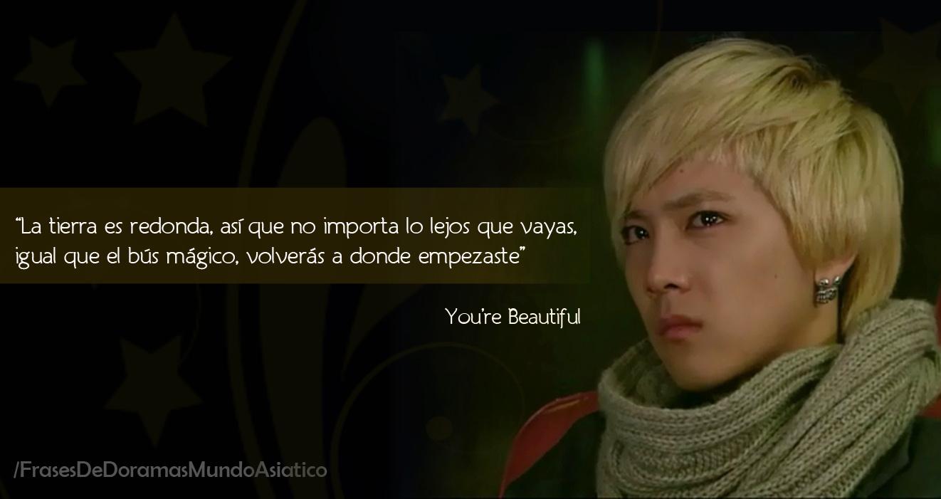 Jang Geun Suk Youre Beautiful Frases: You're beaut...